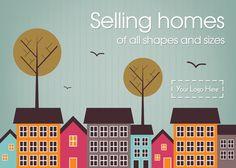 E0119 - Estate Agent Leaflets | Leaflet Designs for Estate Agents