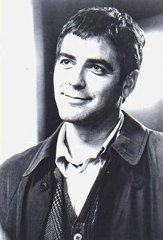 """George Clooney en """"Un día inolvidable"""", 1996"""
