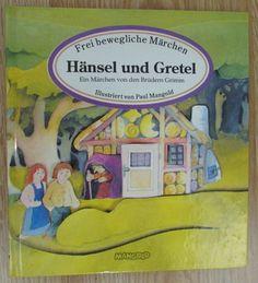 Hänsel und Gretel * Märchen Brüder Grimm * Illustriert von Paul Mangold 1994
