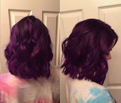 Long bob, Pravana purple
