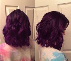 Long bob, Pravana purple