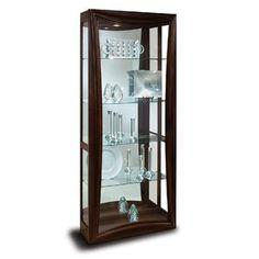 Philip Reinisch Halo Gemini Iv Curio Cabinet Dining Room