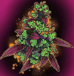 Cannabis, Marijuana Art, Weed Wallpaper, Weed Tattoo, Drugs Art, Trippy Drawings, Stoner Art, Weed Art, Hippie Art