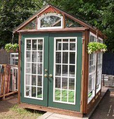 Sun Room Greenhouse Sunroom Green House