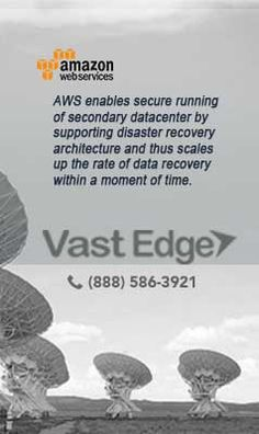 VastEdge as a Premier Consulting Partner for #AmazonWebServices, Offers the #expertise and #solutions that #businesses need to sway #AWS #Cloud.