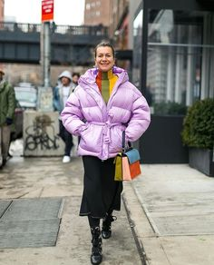 The only way to beat a dreary winter day is with lots of color à la @jxxsy. Tap the link in our bio for more street style inspiration from #NYFW lensed by @theoutsiderblog for BAZAAR.com.  via HARPER'S BAZAAR MAGAZINE OFFICIAL INSTAGRAM - Fashion Campaigns  Haute Couture  Advertising  Editorial Photography  Magazine Cover Designs  Supermodels  Runway Models