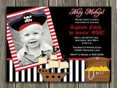 Pirate birthday digital printable invitation template me matey printable pirate birthday invitation pirate hat pirate ship photo card boy birthday filmwisefo Images