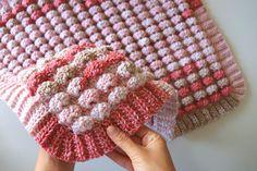 Crochet Candy Blanket / World's Easiest Blanket - Sirin's Crochet Bag Crochet, Manta Crochet, Crochet Bebe, Free Crochet, Crochet Wraps, Crochet Baby Blanket Free Pattern, Crochet Patterns, Crochet Afghans, Crochet Blankets