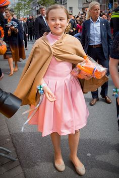Princess Ariane of The Netherlands attends the King's birthday during the Kingsday celebrations on April 27 2017 in Tilburg Netherlands Dutch Princess, Little Princess, 27 Avril, Kings Day, Dutch Royalty, Royal Babies, Queen Maxima, 2017 Photos, Netherlands