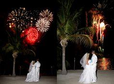 Gorgeous reception fireworks in the Florida Keys at the Coconut Cove Resort.  www.eddieb.com/Keys_DJ.aspx