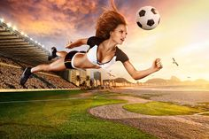 A Beautiful Blend of Photography and CGI | Shooting For the 2014 World Cup Calendar