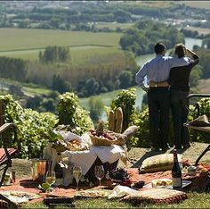 always enjoy an indigenous picnic when traveling (e.g. wine country)