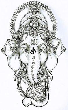 Tattoo Mandala Elephant Ganesh 31 New Ideas Hand Tattoos, Feather Tattoos, Flower Tattoos, Sleeve Tattoos, Girl Tattoos, Tatoos, Ganesh Tattoo, Mandala Tattoo, Arm Tattoo