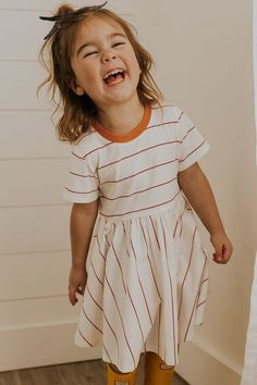 outfit ideas-kids clothing-little girl dresses-little girl clothing-spring outfits Little Girl Outfits, Kids Outfits Girls, Cute Outfits For Kids, Toddler Girl Outfits, Little Girl Fashion, Toddler Fashion, Little Girl Style, Trendy Toddler Girl Clothes, Little Girl Summer Dresses