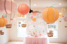 Carried Away Hot Air Balloon Birthday Party via Kara's Party Ideas KarasPartyIdeas.com #hotairballoonparty (20)