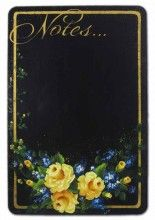 Yellow Rose Chalkboard Pattern Packet $8.00
