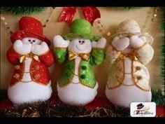 Muñecos navideños 2014 moldes gratis - Imagui
