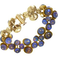 Ten Thousand Things   Opal Disc Bracelet