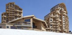 Residence L'Amara, Avoriaz, France - luxury ski apartment complex - http://www.movemountainstravel.com/offer/premium-residence-lamara-2/