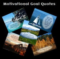 FREE Motivational Goal Quotes in Laura Candler's store on TpT - Great for goal-setting in January!