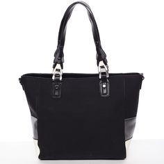 Jedinečná dámská kabelka přes rameno černá - MARIA C Nola 8f115d1a7ee