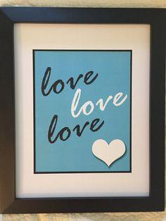 Love Love Love by NightBirdsDesign on Etsy
