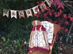 Woodland Apron Knot Dress & Ruffle Pants Outfit - Girls sizes 6 month - 5 on Etsy, $42.00