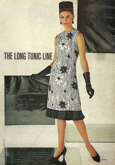 long tunic line McCall's Spring 1963 | Flickr - Photo Sharing!