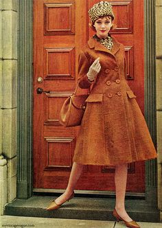 McCall's Fall / Winter 1962  I want this pattern. I've been saving some green corduroy for a pattern like this.