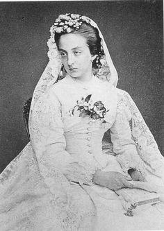 * Marie Isabelle de Orleans * Mãe de D. Amélia de Orleans. (Sevilha, Espanha, 21/Setembro/1848 - Palácio de Orleans, Espanha, 23/Abril/1919).