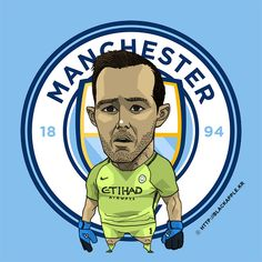 Manchester City No.1 Claudio Bravo Fan Art