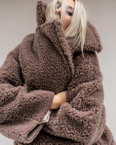 Shop Your Screenshots™ with LIKEtoKNOW. Latte, Yves Saint Laurent, Go To New York, Full Look, Teddy Coat, Classic Outfits, Simple Outfits, Acne Studios, Autumn Winter Fashion