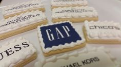 Charlotte Premium Outlet Mall store Logo Cookies.