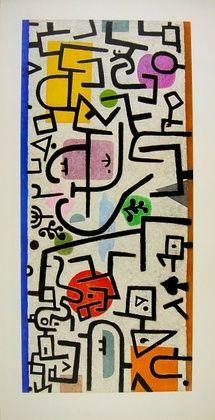 Paul Klee, Hafen, 1938, Kunstdruck bei Germanposters.de