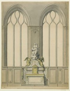 design from the Robert de Cotte architectural collection of 18th c. France