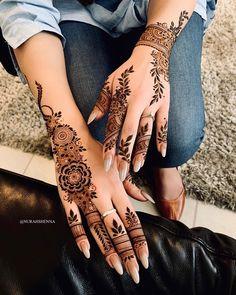 Mehandi Designs, Pretty Henna Designs, Modern Henna Designs, Latest Henna Designs, Floral Henna Designs, Finger Henna Designs, Modern Mehndi Designs, Henna Art Designs, Mehndi Designs For Fingers