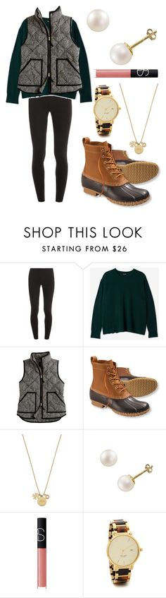 """All the small things"" by emmacaseyyyy ❤ liked on Polyvore featuring Splendid, Steven Alan, J.Crew, L.L.Bean, Kate Spade, PearLustre by Imperial and NARS Cosmetics"