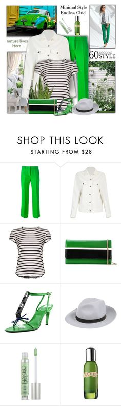 """(edited!) Minimal Style, Endless Chic"" by mimi1207 ❤ liked on Polyvore featuring Emilio Pucci, Frame, Lanvin, Roger Vivier, FABIANA FILIPPI, Urban Decay and La Mer"