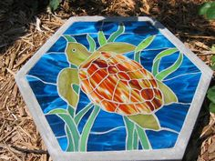 Sea Turtle - Delphi Stained Glass