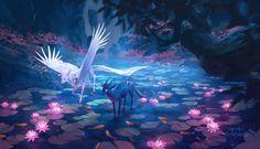 Likes, 58 Comments - jax sheridan Mythical Creatures Art, Magical Creatures, Fantasy Creatures, Fantasy Beasts, Fantasy Inspiration, Fantasy Landscape, Anime Scenery, Fantasy Artwork, Fantasy World