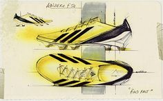 Footwear Sketch Collection