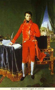 Jean-Auguste-Dominique Ingres : Bonaparte 1er Consul