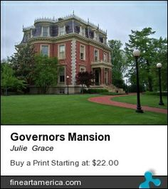 Photograph of the Governor's Mansion, Jefferson City, Mo.