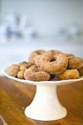 Apple House Cinnamon Doughnuts@favehealthyrecipes.com