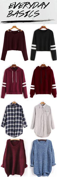 Fall & Winter Fashion 2016 from romwe.com