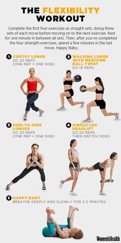 A 5-Move Workout to Increase Your Flexibility