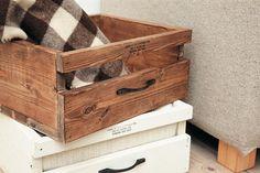 引き出し風収納ボックス。/簡単&おしゃれなプチ木工(「はんど&はあと」2013年10月号)