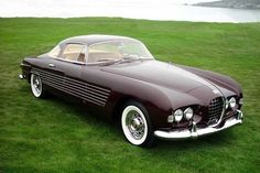 1953 Cadillac Ghia. Ordered by Ali Khan for Rita Hayworth as a birthday present. One of two ever built...