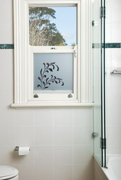 Custom Made Frosted Window Film By Frost Co Perfect For Bathrooms