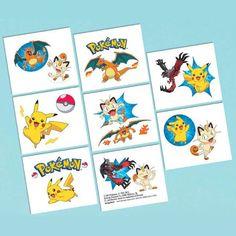 Pokemon Tattoos | Tv's Toy Box